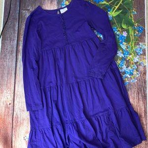 Hannah Anderson Blue Long Sleeve Dress Size 140 10
